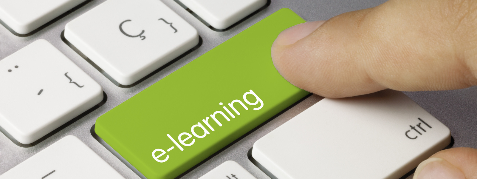 Botón de aprendizaje online